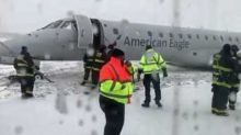 Passengers Disembarked After Plane Skids Off Runway at Chicago O'Hare Airport