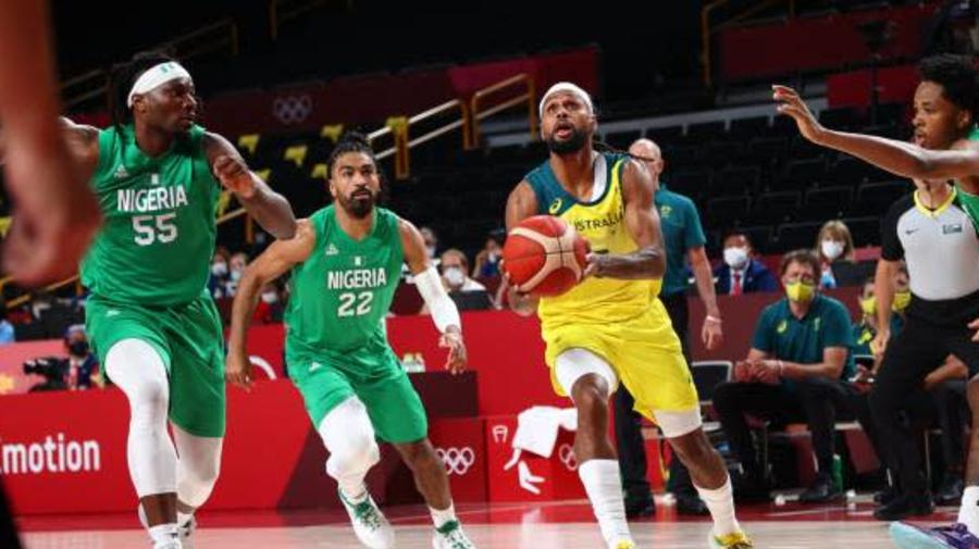 JO - Basket (H) - L'Australie démarre fort face au Nigeria aux JO de Tokyo