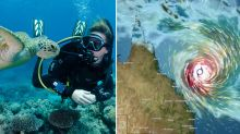 Brewing cyclone to bring Queensland deluge – but it's good news for the reef