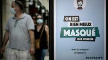 Verschärfte Maskenpflicht in Frankreich in Kraft