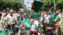 Algerians mix protest and football with eyes on Africa cup