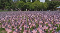 Thousands of Flags Remember Killed Massachusetts Soldiers