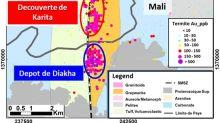 IAMGOLD annonce une nouvelle découverte présentant des intersections à teneurs élevées à l'issue de son programme de forage de 2019 au projet Karita en Guinée