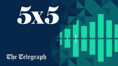5x5 bulletin for Friday 23 June: Listen to today's essential news from the Telegraph