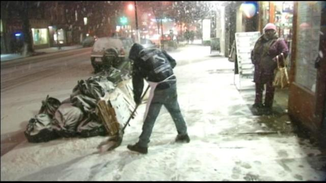 Blizzard Conditions Blanket Northeast