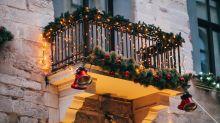 Lichterketten am Balkon: Was erlaubt ist - und was nicht