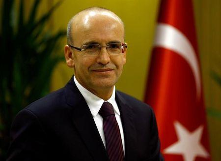 Turkish Deputy Prime Minister Simsek poses during an interview with Reuters in Ankara