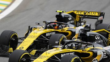 Renault F1 team making 'strong progress' with its 2019 car