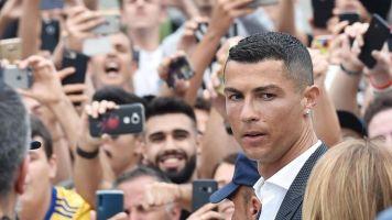 Juventus unveil £99m Cristiano Ronaldo
