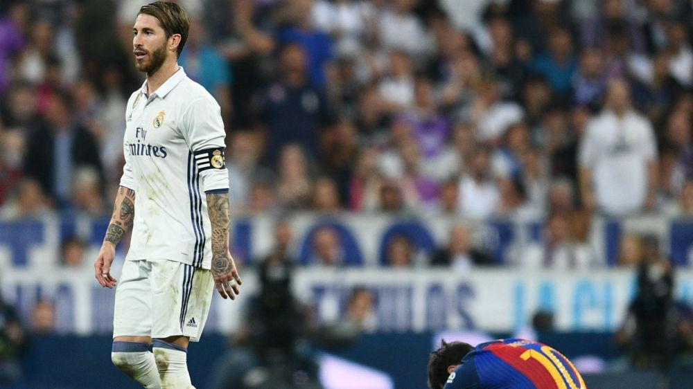 """""""En la victoria o la derrota"""": el mensaje de Ramos tras la expulsión"""
