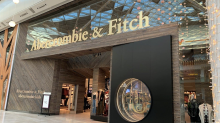 Abercrombie & Fitch same-store sales grow in US, shares down