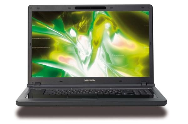 Medion rolls out 18-inch Akoya P8610 media center laptop