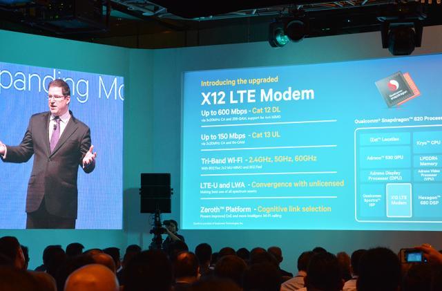 Qualcomm's Snapdragon 820 packs 600Mbps LTE and smarter charging