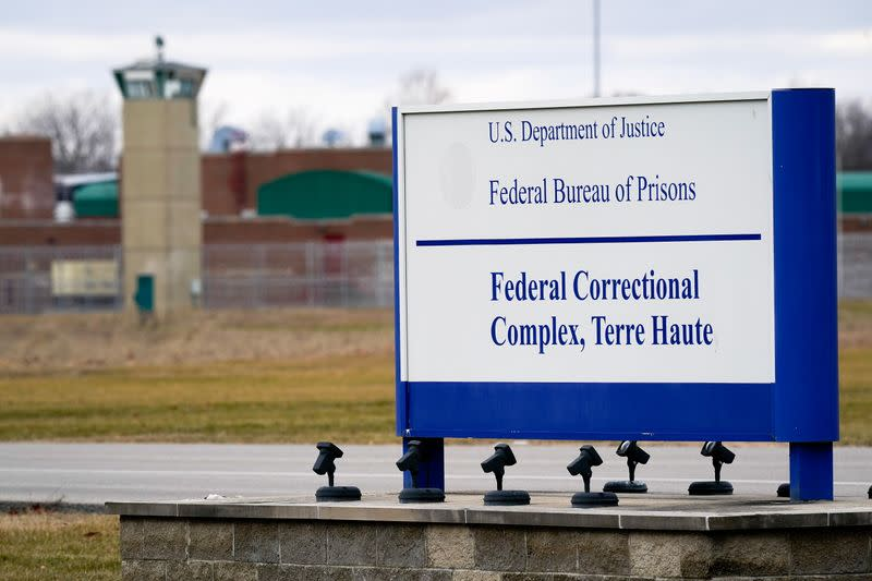 U.S. to carry out 13th and final execution under Trump administration
