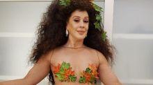 Claudia Raia arrasa com visual inspirado em Eva: 'Bem natural'