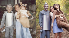 These Siblings Recreated Their Childhood Halloween Photo 21 Years Later and It's Magical