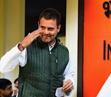 Gandhis attacked and arrested in India after attempted visit to gang rape victim's family