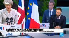 """"""" C''est une manière de montrer que le Royaume-Unis cherche a maintenir le lien bilatéral avec la France"""""""