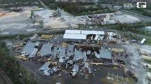Hurricane Michael: An aerial view of destruction