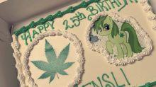 Bakery mixup leaves woman with marijuana-themed birthday cake instead of Moana
