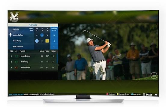 Samsung is helping golfers keep up with the PGA Championship