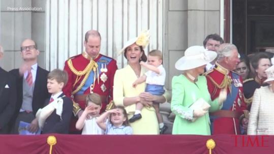 Prince George, Princess Charlotte and Prince Louis Are