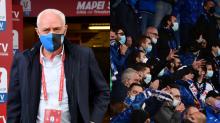 I tifosi dell'Atalanta contestano Percassi, come milanisti e interisti con Berlusconi e Moratti: da non credere
