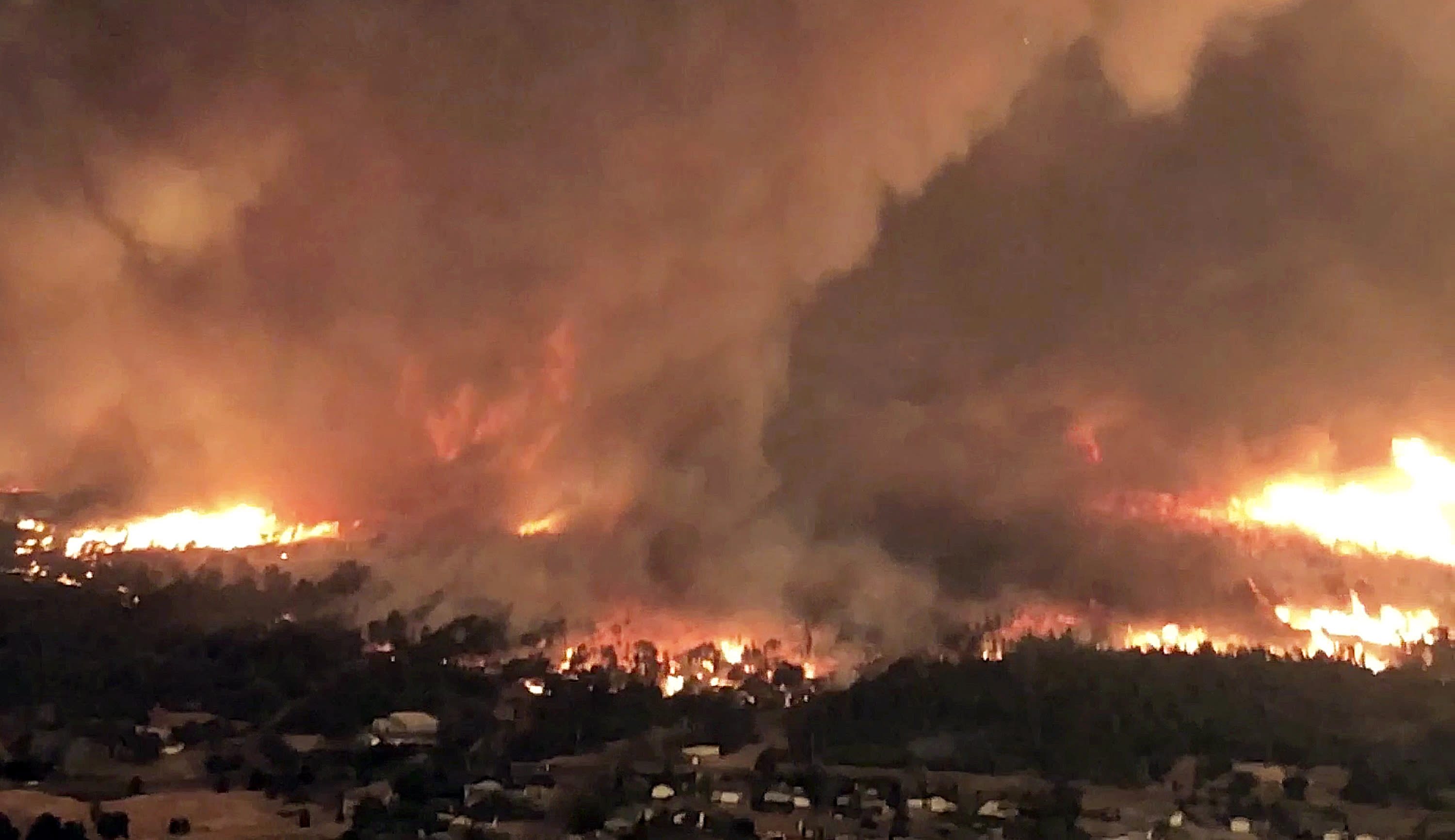 Extreme Heat And Fire Tornadoes Slow Firefighting Efforts In California