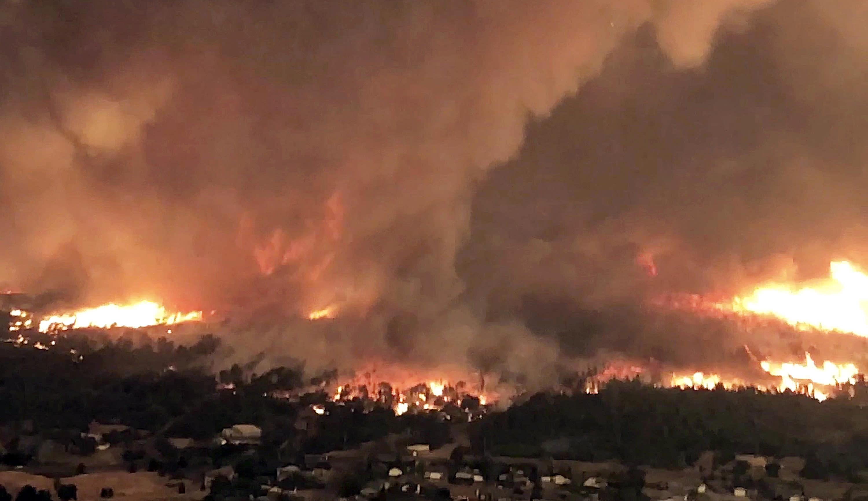 Loyalton Fire Grows To 44,000 Acres
