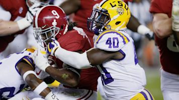 No. 11 NFL draft prospect: LSU LB Devin White