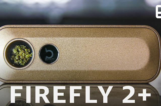 Firefly 2+ is a smart and stylish vape for cannabis connoisseurs