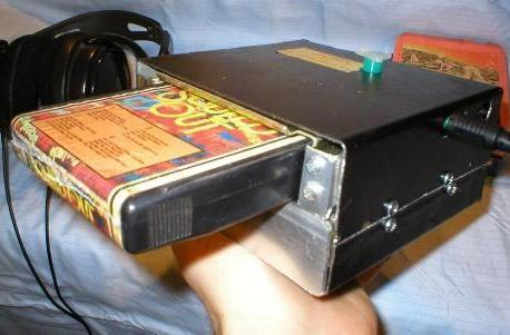 8-track Walkman makes the 70's portable, more funky