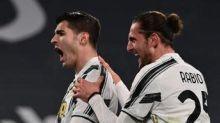 Juve-Lazio 3-1, Rabiot e doppio Morata per rimonta bianconera