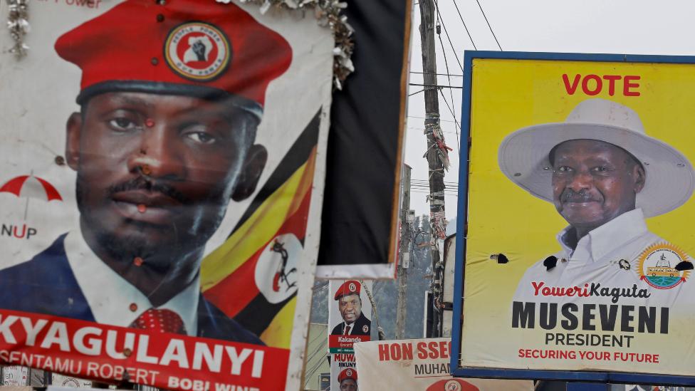 Uganda elections 2021: Yoweri Museveni faces Bobi Wine in presidential contest
