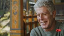 'Parts Unknown' ends with Anthony Bourdain in a country that's all about 'happiness'