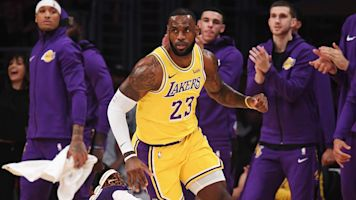 LeBron's shot sends Lakers to OT in loss