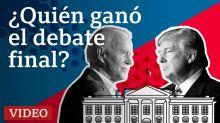 En video: el análisis de los periodistas de BBC Mundo sobre el último debate entre Trump y Biden
