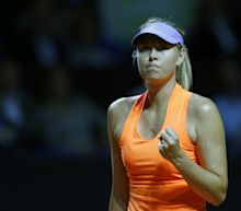 Maria Sharapova victorious on return from 15-month drugs ban