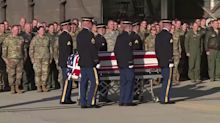 Utah mayor killed in Afghanistan returned home