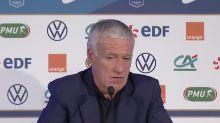 """Bleus - Deschamps : """"On doit passer par des périodes difficiles"""""""