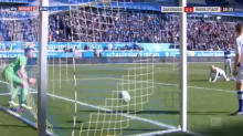Keeper takes in-game water break, concedes embarrassing goal with back turned (Video)