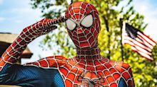 Friendly neighborhood Spider-Man brings smiles to kids during the pandemic