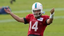 Dolphins' Fitzpatrick learns of mom's death before scrimmage