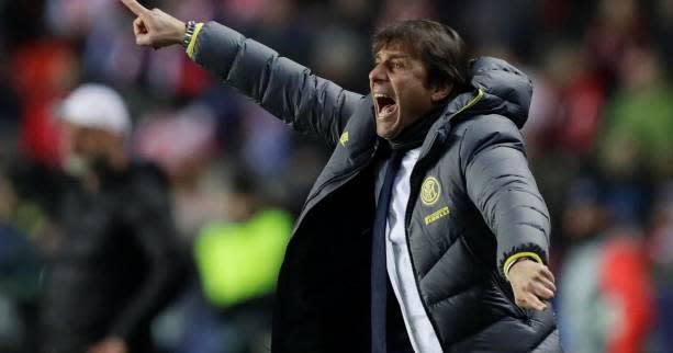 Foot - C1 - Inter - Antonio Conte (Inter Milan) s'attend à « un grand match » contre le Barça