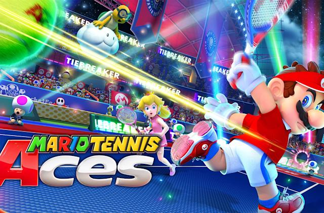 'Mario Tennis Aces' hits the Nintendo Switch on June 22nd