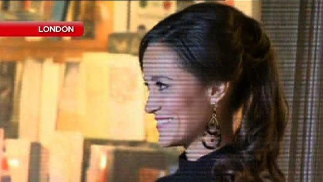 Awkward moment for Pippa Middleton