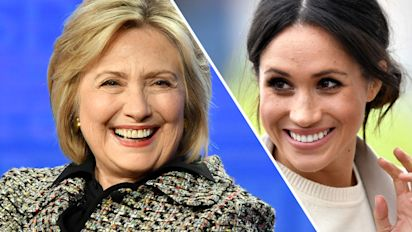 Hillary Clinton shared a Meghan Markle quote