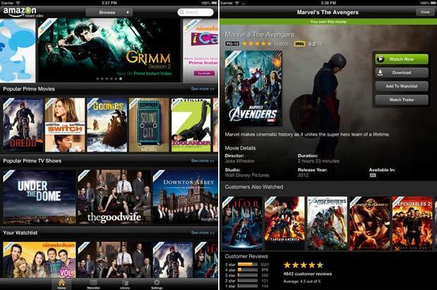 Amazon adds AirPlay streaming, IMDb integration to Instant Video iOS app