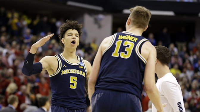 Michigan's mixed bag: Wagner stays, Wilson goes
