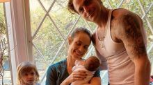 Michael Douglas' son Cameron welcomes baby boy